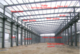 Steel structure warehouse/workshop/shed element
