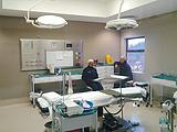 operating lamp & operating table in Nigeria hospital