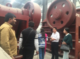 Indian customers to order large jaw crusher