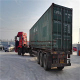 Belarus customer machine delivery