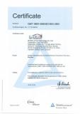 ISO9001:2008 Certificate of Aluminium Structure Marquee