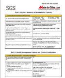 SGS Report - 4