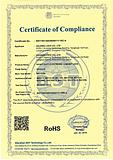 CE Certificate of Electric cabinet lock