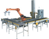 The palletizer helps the rapid development of wrapping field
