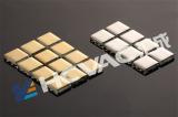 Glass mosaic Titanium coatings