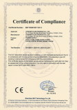 CE-LVD-Certificate for Wallmount Type Switching Power Adapters