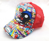pre curved peak sublimation trucker mesh cap hat for music sport