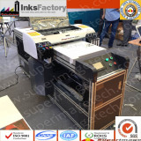 Our A2 LED UV Flat-bed Printers Converted from 4880C In Exhibition