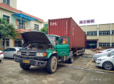 extrusion line delivery to Mid-East country