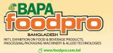 """""""FOODPRO Bangladesh"""" in Dhaka from Nov.24-26.2016"""