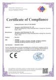 CE Certificate of receiver