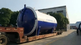 To Portugal: 3600x8000mm Glass Autoclave in 2017