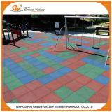 Children playground safety rubber tiles