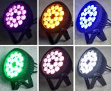 Outdoor waterproof LED par light 18pcs RGBWAUV
