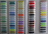 nylon line color comparison table