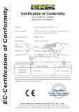 CE Certificate of Infaltable slide