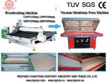 wood cnc router and vacuum membrane press machine