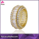 white zirconia women ring