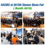 Haobo Attend 2013th Xiamen Stone Fair