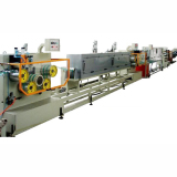 Plastic strapping band machine