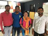 meeting in India customer′s office