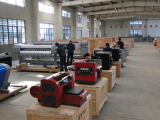 Whole assembling the machine