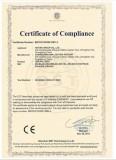Glass Ceiling Light CE-LVD Certificate