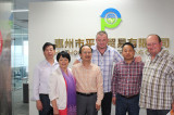 friendly customer visit our company