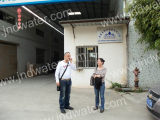 Lebanon customer in our factory