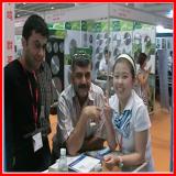 Photo with Guangzhou Fair Customer