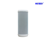 10.6 Inch White Small Fashion Outdoor Column Speaker