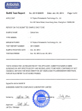 RoHS Report of B270 glass and K9 glass