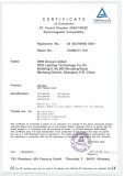 CE Certification for LED Filament Bulb