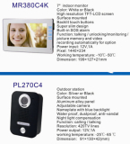 4 Wires Video Intercom System---K Series