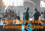 High Speed Cup Forming Machine
