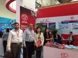 We have attended the 24th International Motorcycle Parts Fair in Xi′an Fair in China