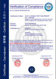 CE Certification of Drop Test Machine