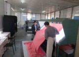 Fabrics inspection machine