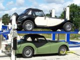 four post auto parking lifter
