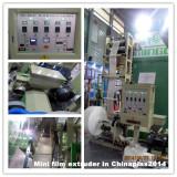 Mini film blowing machine in Chinaplas Shanghai 2014