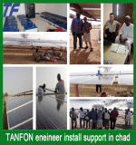 TANFON eneineer install support in chad