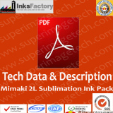 How to install and use 2L Mimaki sublimation ink bags
