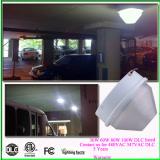 60W DLC Etl cEtl 277VAC 347VAC led parking garage canopy Light