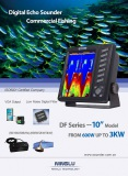 7 inch & 10 inch fish finder for commercial fishing up to 3KW