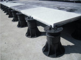 Pedestal for tile and composite wood
