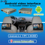 Car Android Navigation System Video Interface box For Mazda