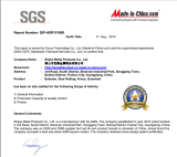 SGS at site approve
