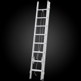 factory price compact telescopic aluminum engineering ladder