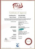 SAA Certificate for 3KA RCBO