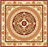 Flower Pattern Carpet Tile Polished Crystal Ceramic Floor Tile 1200X1200mm (BMP03)